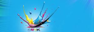 CMYK colour splash