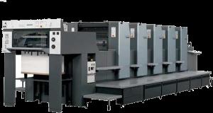 Heidelberg speedmaster printing machine