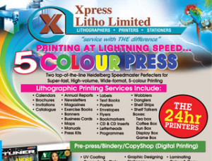 Xpress Litho Limited ad