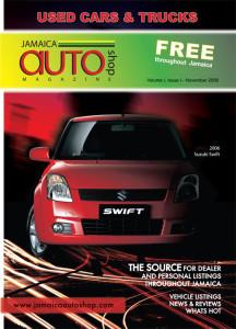 Jamaica auto shop printed flyer